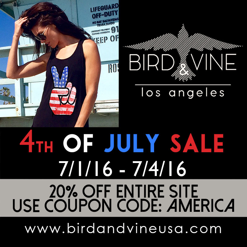 4th of july sale 2016 R